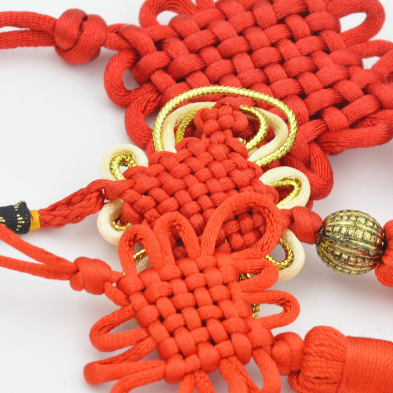 Traditional Handicraft Weaving Chinese Knot