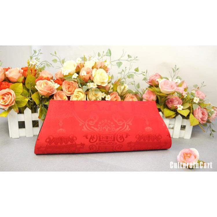 Red Plum Blossom Hand Embroidery Handbag
