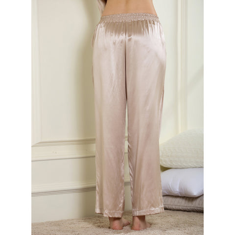Easy fitting Nightwear Pant 19 momme satin pure silk
