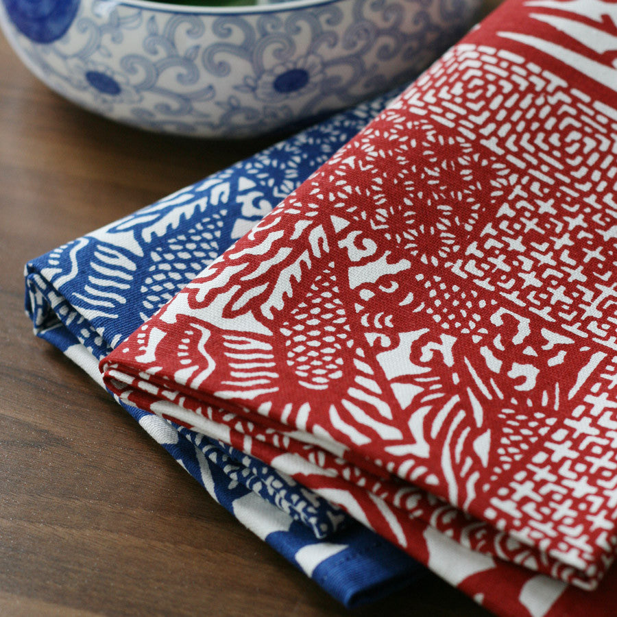 Oriental style purified cotton tablecloth