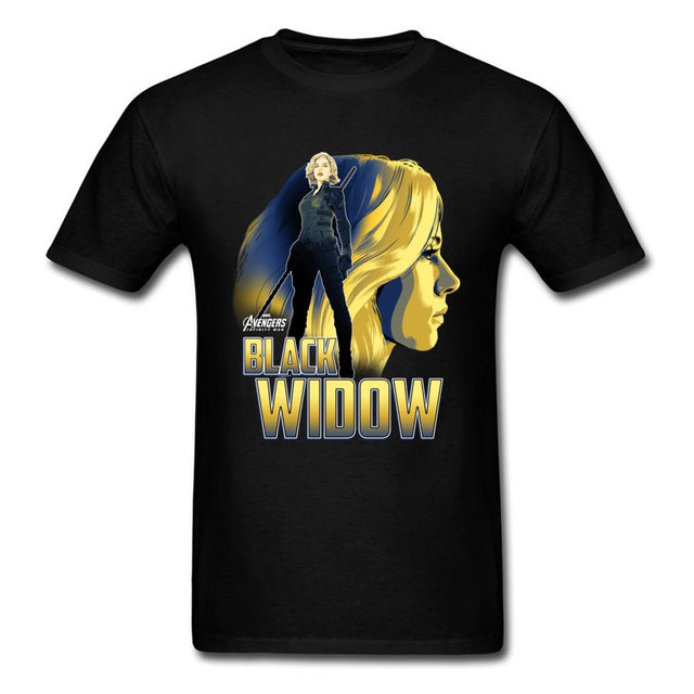 Black Widow Shirt Special Edition (Black, White, Navy Blue)