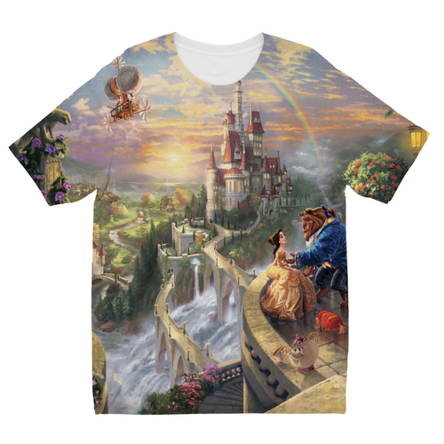 Beauty and the Beast Kids Sublimation TShirt