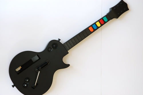 Wireless Guitar for Wii Guitar Hero and Rock Band Games