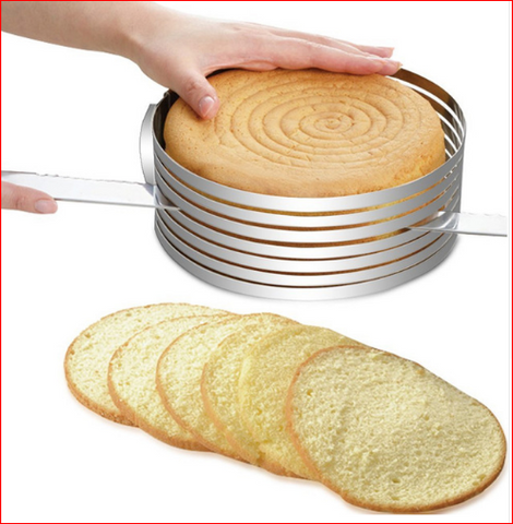 Stainless Steel Layered Cake Slicer Guide