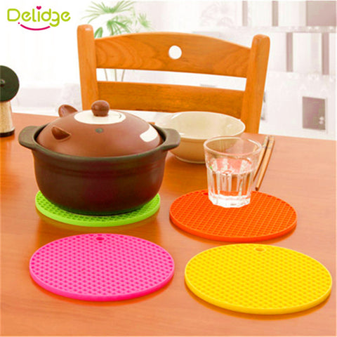 Silicone Non Slip Heat Resistant Mat, Coaster, Jar Opener, Pot Holder