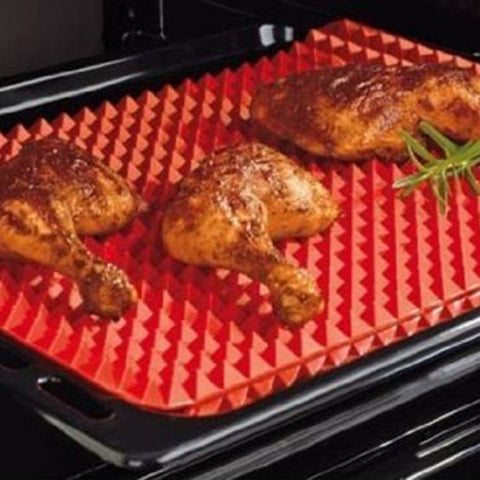 Healthy Cooking Raised Silicone Baking & Roasting Mat