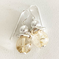 Quartz earrings LUONE