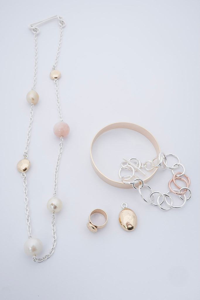 MORGANITE GOLD & PEARLS