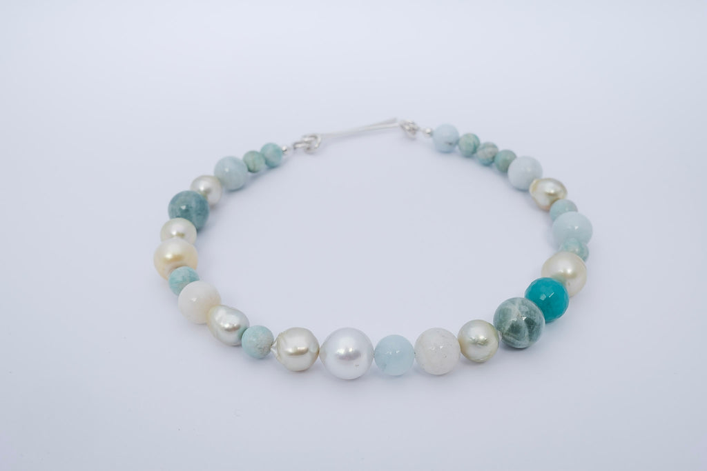 AQUAMARINE + RUSSIAN AMAZONITE