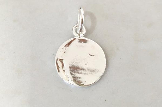 PENDANT - STERLING SILVER ROUND