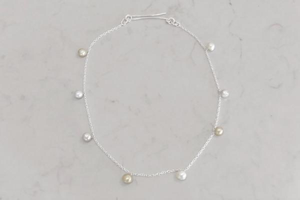 STERLING SILVER + PEARLS