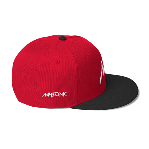 M4 Snapback RED