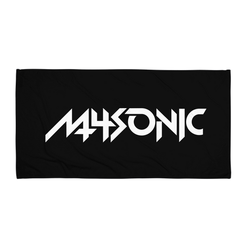 M4SONIC Beach Towel