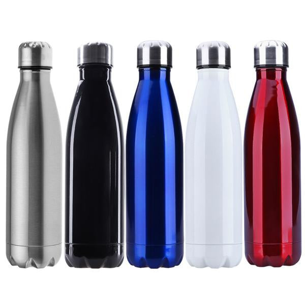Stainless Steel Double Vacuum Insulated Water Bottle – Basic Travel  Essentials 81f08ab5d071