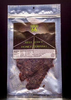 Beef Jerky, Honey Teriyaki