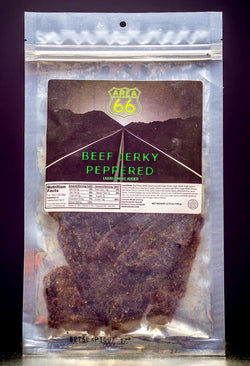 Beef Jerky, Peppered Steak