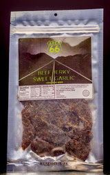 Beef Jerky, Sweet Garlic