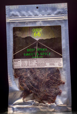 Beef Jerky, Sweet and Spicy