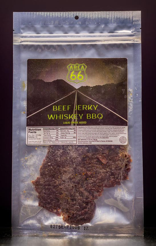 Beef Jerky, Whiskey BBQ