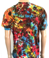 Alien Head tie dye Chaos pattern