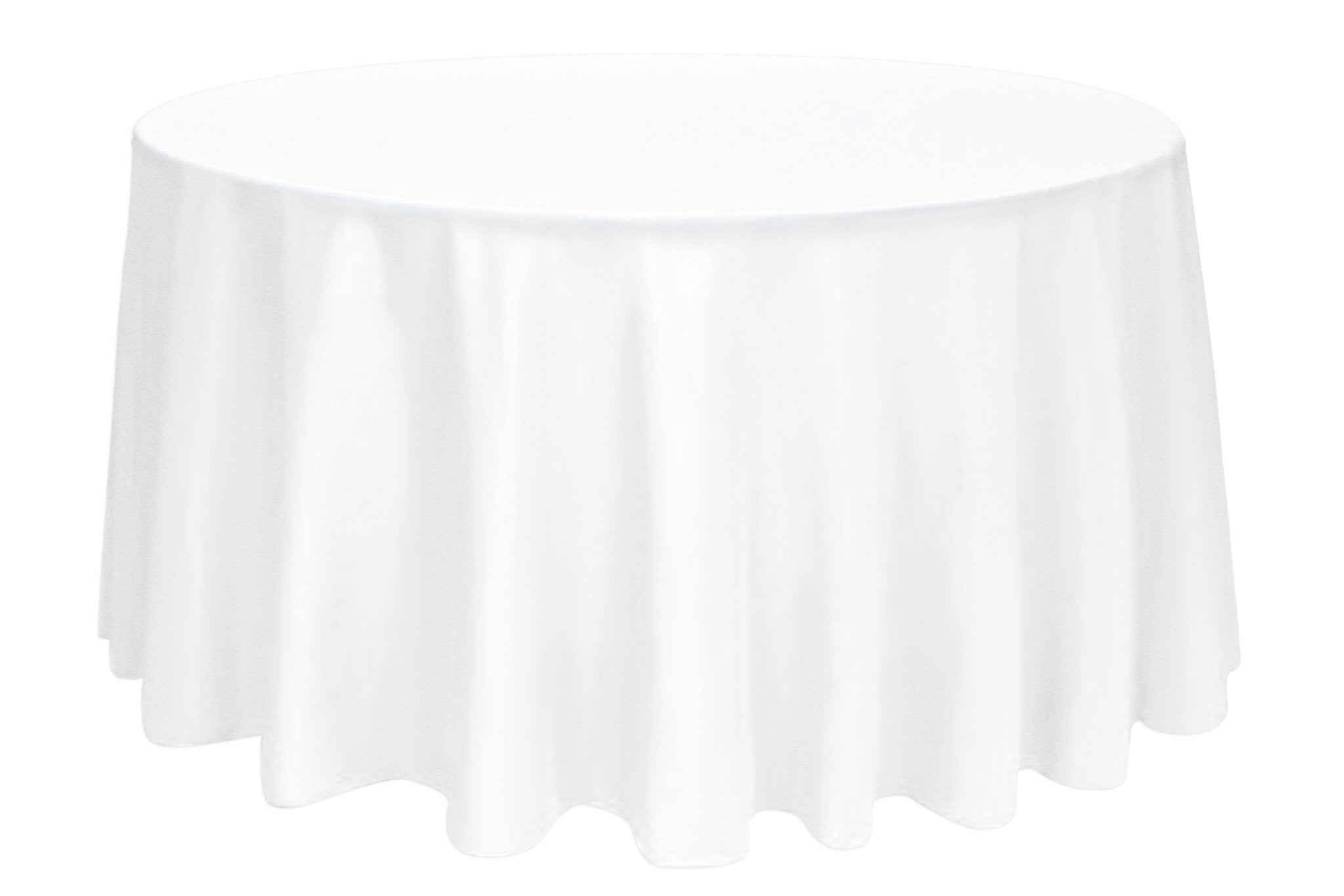 White round tablecloths cheap -  132 Round Tablecloth