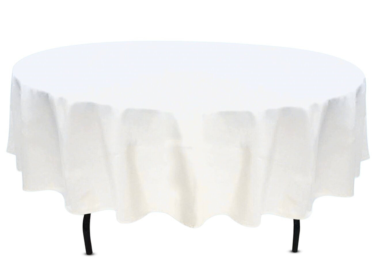 White round tablecloths cheap - 90 Round Tablecloth