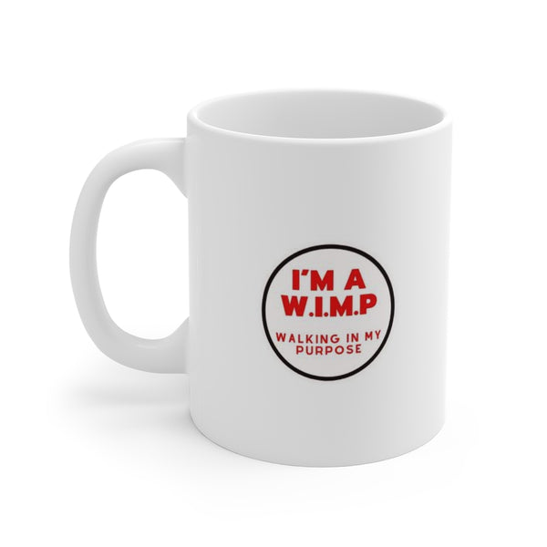 White WIMP Mug 11oz