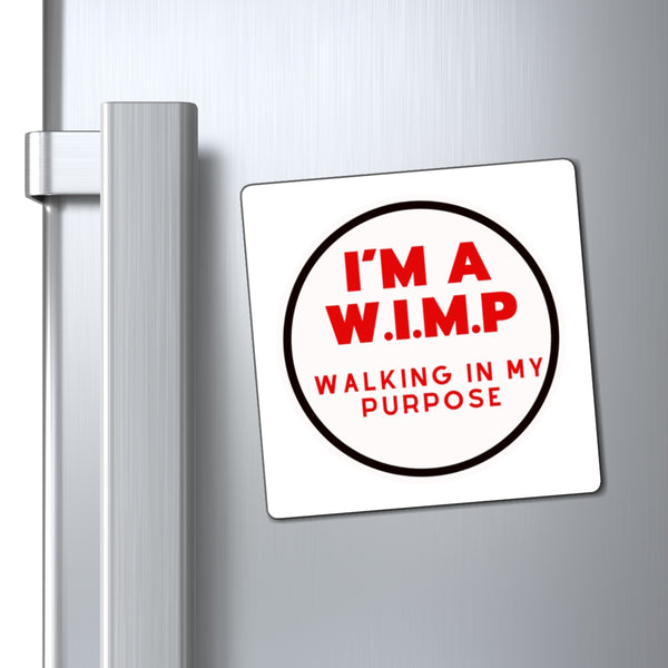 WIMP Magnet (White Background)