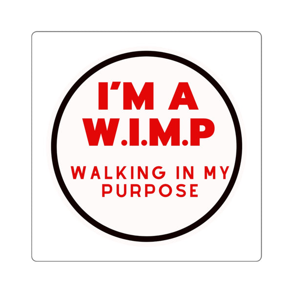 WIMP Stickers (White Background)