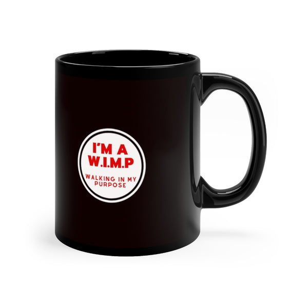 Black WIMP mug 11oz