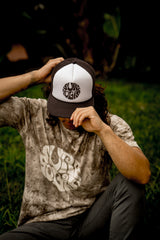 Surfyogis White Panel Trucker Hat
