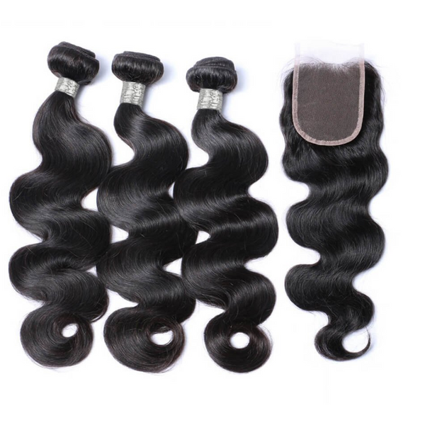 Bundle Deals- 3 Bundles + Lace Closure
