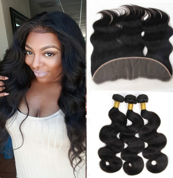 Bundle Deals- 3 Bundles + Lace Frontal