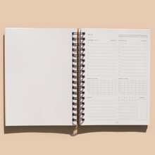 The Self Care Planner - Daily Edition - Navy