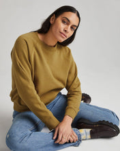 Women's Recycled Fleece Sweatshirt - Golden Verde