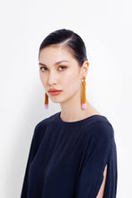 Blok Earrings - Dijon / Musk
