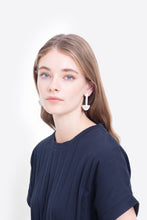 Monya Earrings - White