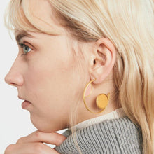 Leigh Earrings - Pink + Apricot