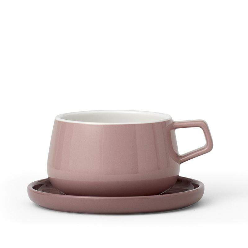 Ella Tea Cup - Stone Rose