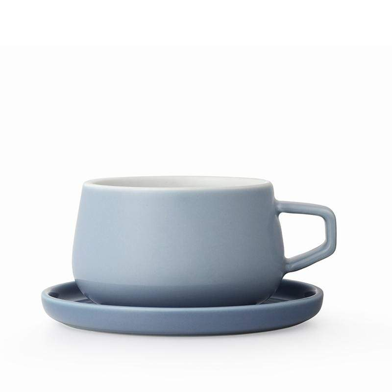 Ella Tea Cup - Hazy Blue
