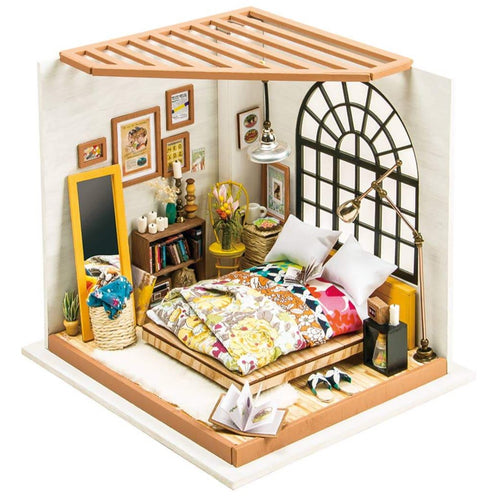 DIY 3D Miniature Kit - Bedroom