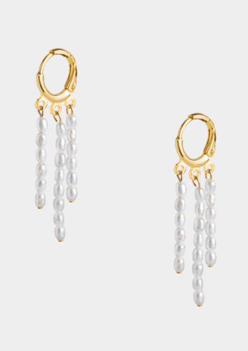 Trio Drop Earrings