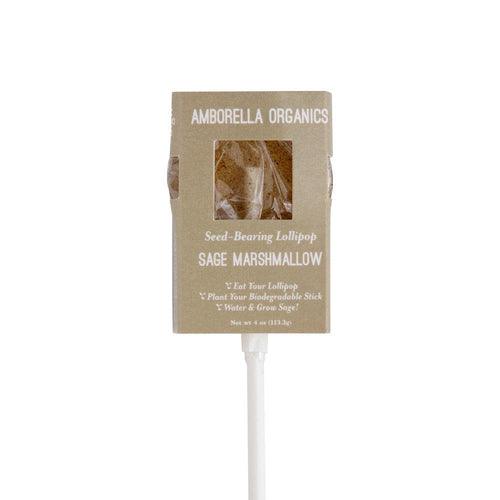 Sage & Marshmallow Seed-bearing Lollipop
