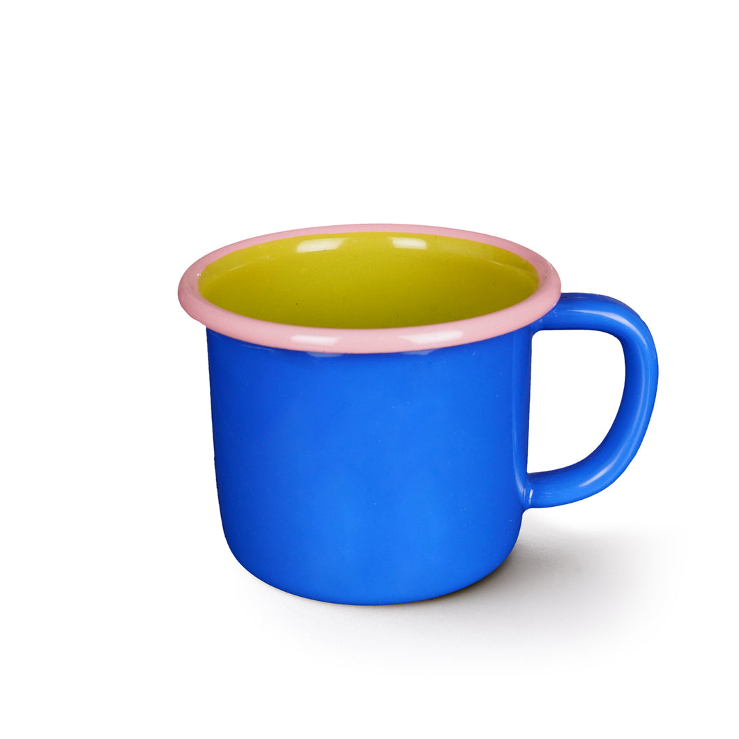 Colorama Mug - Electric Blue With Chartreuse