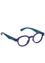 Eloise Blue Light Glasses - Indigo/Teal