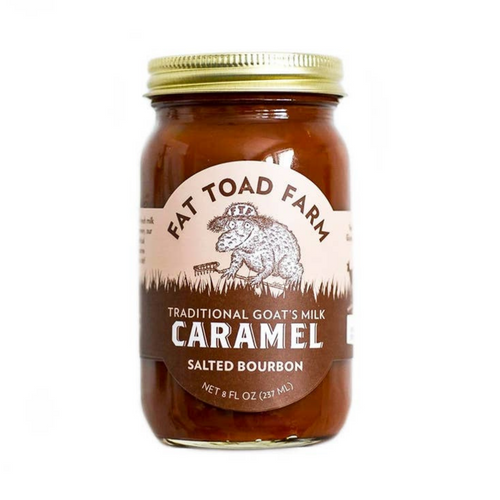 Salted Bourbon Goat's Milk Caramel - 8 oz
