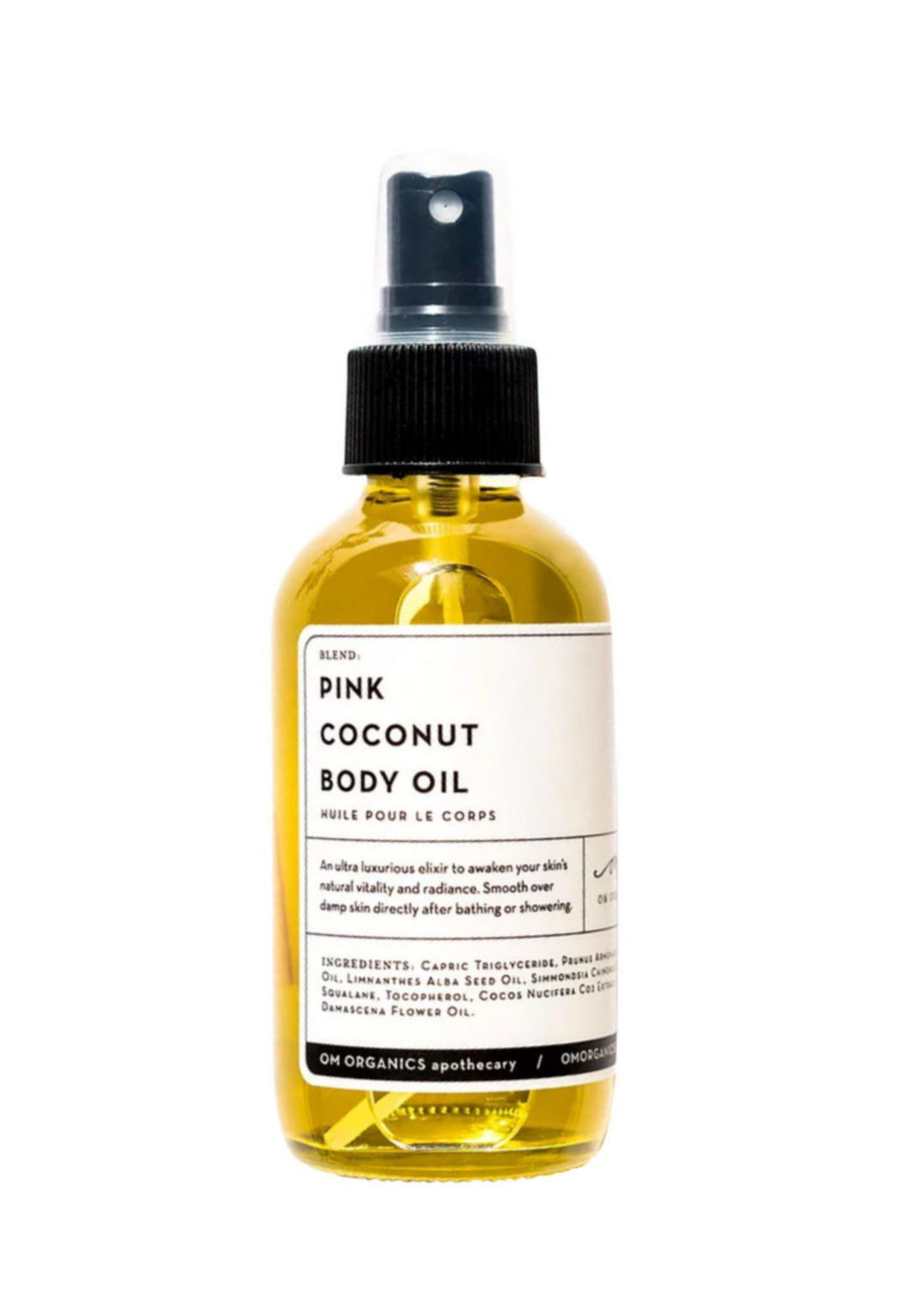 Pink Coconut Body Oil