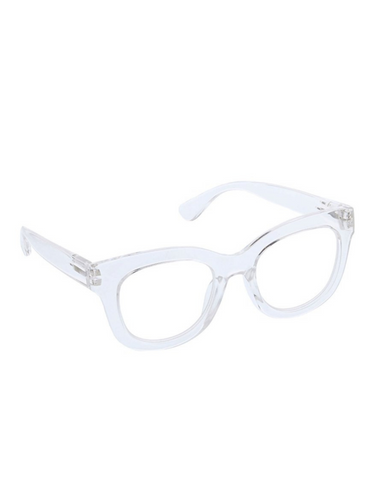 Centre Stage Blue Light Glasses - Clear