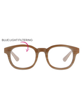 Curtain Call Blue Light Glasses - Pink Horn