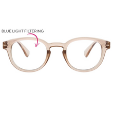 Smith Blue Light Glasses - Tan/Blush